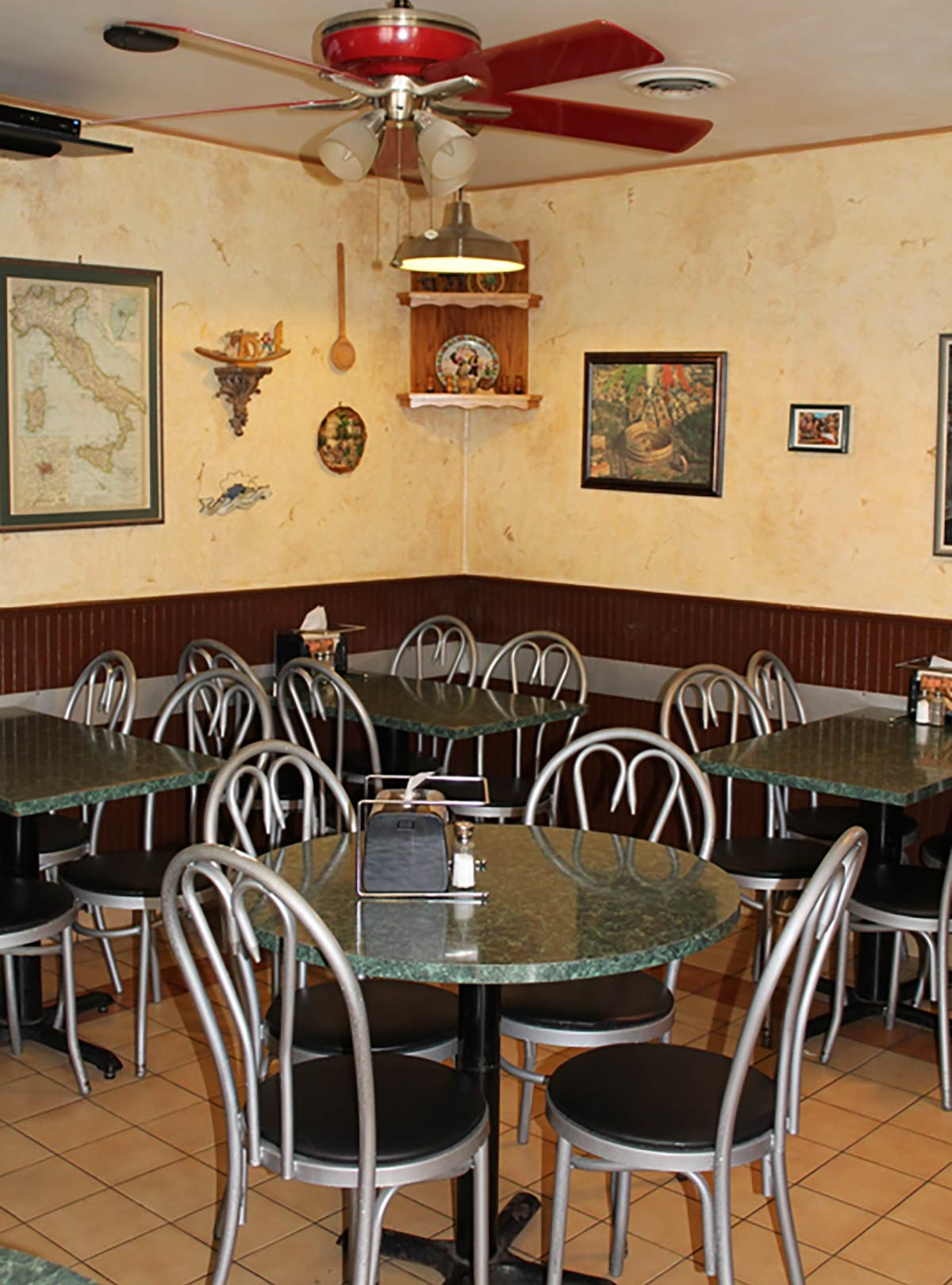 Franco's Pizza dining room - Portage, MI